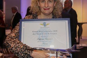 Tiffany Tavernier, Grand Prix Littéraire 2019 de l'AéCF